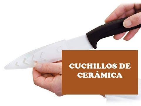 Cuchillos de ceramica - Ventajas e inconvenientes - YouTube 15905682681f