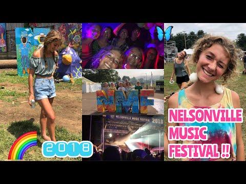 NELSONVILLE MUSIC FESTIVAL VLOG 2018 | Holly Ebert