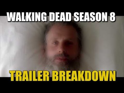 the walking dead season 8 trailer breakdown twd all out war trailer youtube. Black Bedroom Furniture Sets. Home Design Ideas