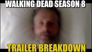 The Walking Dead Season 8 Trailer Breakdown TWD All Out War Trailer