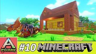 PIXARK - Minecraft Ark #10 - House Building - Căn Nhà Nhỏ Pixark
