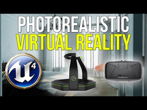 AMAZING VR | UE4 Paris Apartment + Oculus Rift DK2 + DIY Virtuix Omni