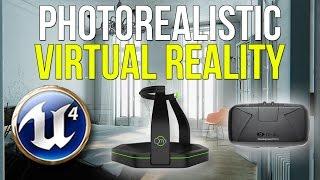 AMAZING VR   UE4 Paris Apartment + Oculus Rift DK2 + DIY Virtuix Omni
