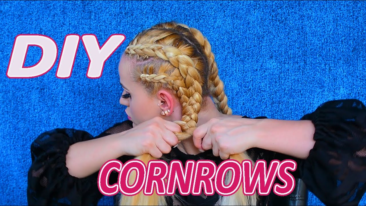 How to braid your own hair with hair extensions youtube pmusecretfo Image collections