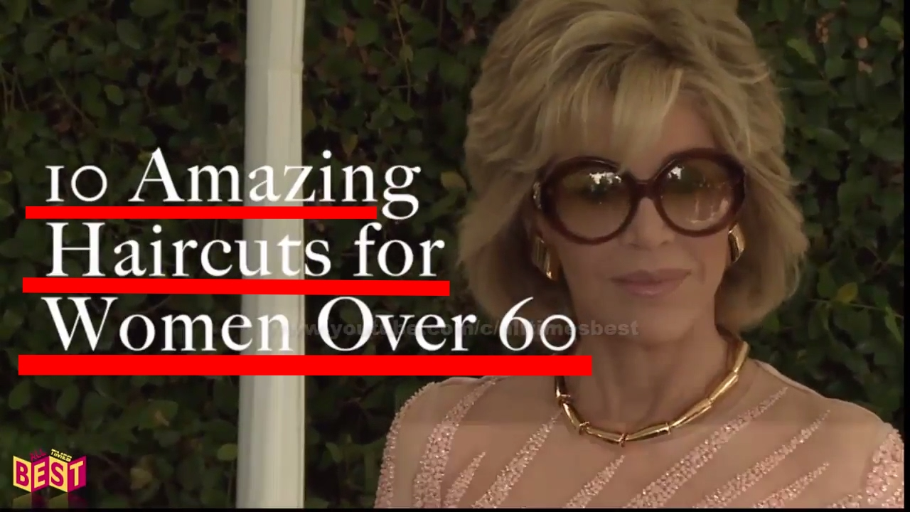 10 Amazing Haircuts For Women Over 60 Youtube