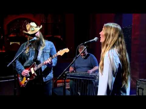 Chris Stapleton performs Traveller  Late Show