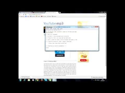 Como Converter Vídeos Do YouTube Para Mp3 Sem Programa 2015