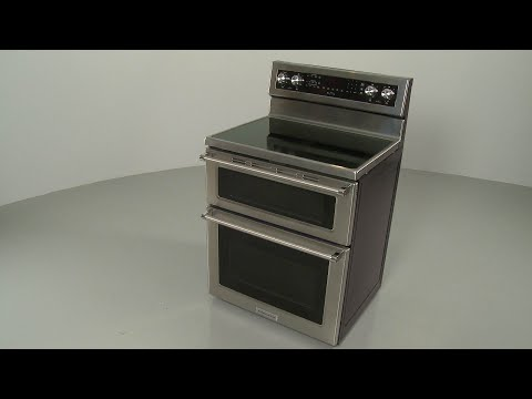 Kitchenaid Double Oven Electric Range Disassembly #KFED500ESS02