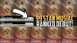 RANKED NO-HITTER? 99 IMMORTAL STAN MUSIAL DEBUT MLB THE SHOW 18!