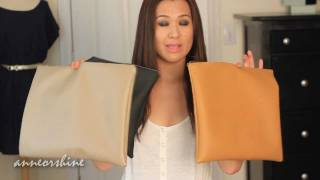 DIY Clutch American Apparel Leather Pouch How to Make thumbnail