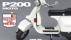 Lego Arvo's Vespa P200E Time lapse
