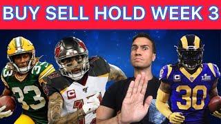 Fantasy Football 2019 Week 3 Trade Targets