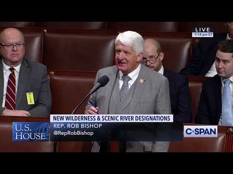 Rep. Rob Bishop Urges Democrats to Fix Our National Parks