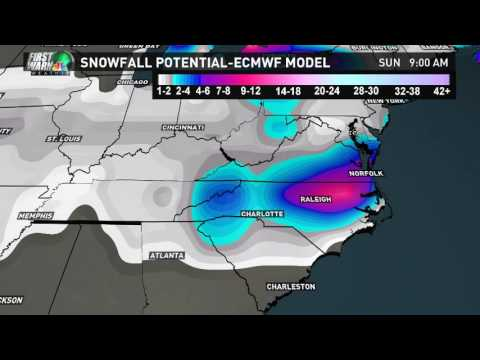 Ski Southeast forecast for 1/5/2017