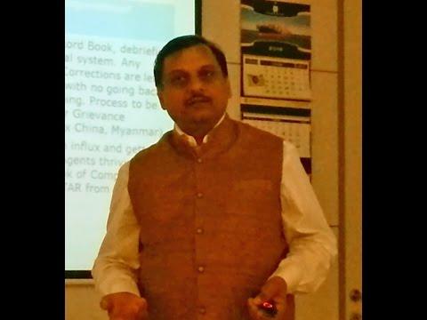 Mr. Sanjay Prashar at Maritime Trainers Guild 2016