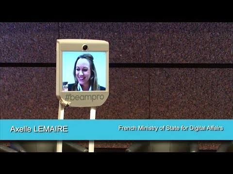 Digiworld Summit 2014, 20Nov - Axelle Lemaire (Ministry of State) - Europe on the rebound?