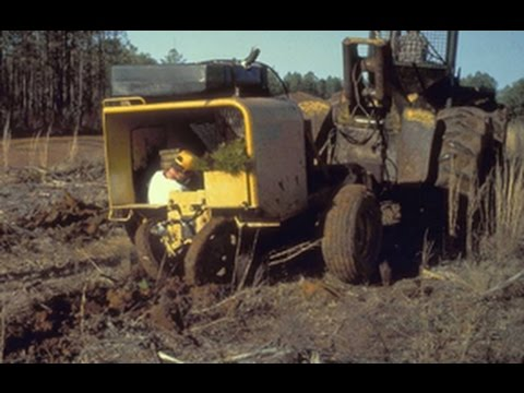 Pine Tree Planting Machine Georgia 2016 Episode 6 Youtube