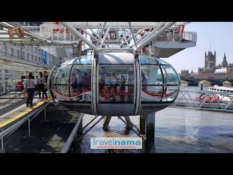 London Eye Landmark 2019 - 4K Ultra HD
