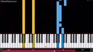 Boku no Hero Academia OST - You can Become a Hero - EASY Piano Tutorial - 君はヒーローになれる - 僕のヒーローアカデミア