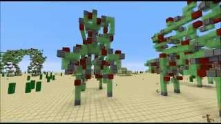 Robot Battle in Minecraft - Begun the Drone War Has
