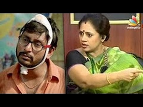 Ennama ippadi panreengale ma RJ Balaji Lakshmi Ramakrishnan angry with Kadavul Irukan Kuma