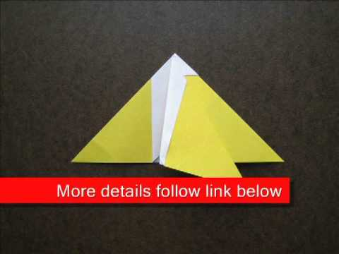 Paper Folding Easy Origami Banana Youtube