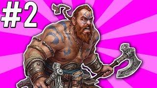 PIERWSZE BOSSY! - Barbarian Onslaught The Secret of Steel #2