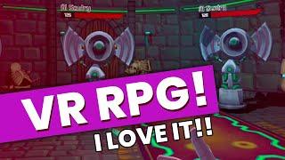 New Turn-based VR RPG Game For Oculus Rift & Oculus Quest 2