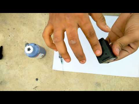 How to refill 678 black ink cartridge without using suction tool........