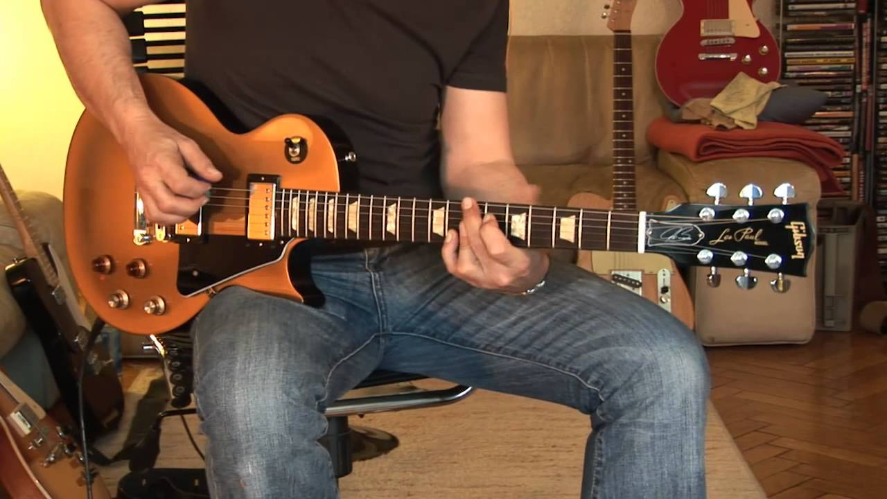 Gibson Joe Bonamassa Les Paul Studio Part1 - YouTube