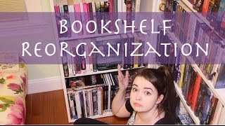 Bookshelf Reorganization