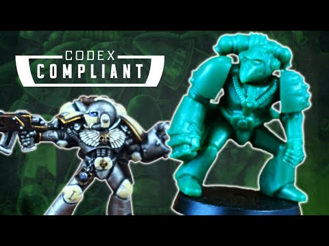 Oldschool Space Marine Models - Codex Compliant