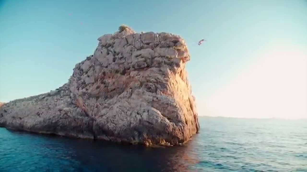 Steve Aoki 60 Ft Cliff Jump In Ibiza Youtube