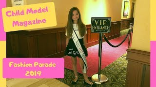 Child Model Magazine Fashion Parade 2019
