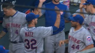 6/10/17: Matz's seven innings lift Mets to 8-1 win