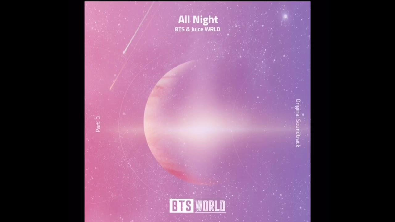 AUDIO) BTS RM AND SUGA FT Juice WRLD 'ALL NIGHT' - YouTube
