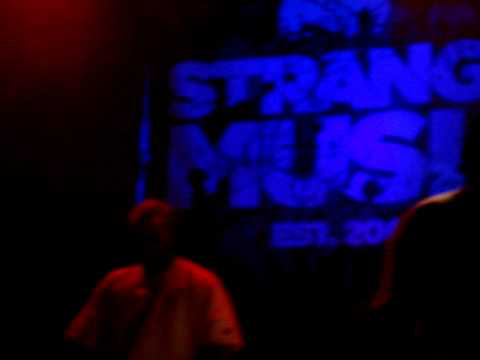 Tech N9ne - Blacken The Sun / Strange Music Box Live In Toronto
