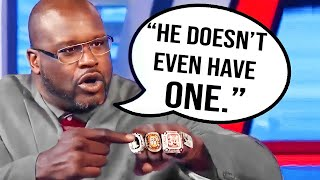 Times Shaq DISRESPECTED NBA Players..