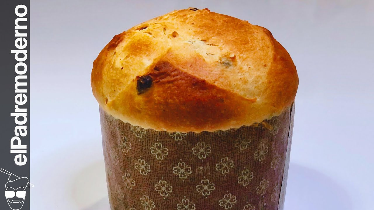 PANETTONE CASERO  Pan dulce italiano