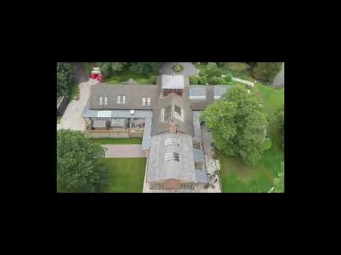Drone video of The Oak Tree of Peover by Andy Murphy