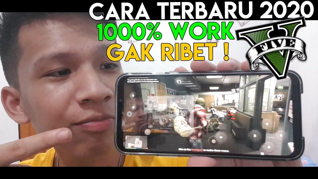 1000% WORK ! Download Dan Main GTA 5 Di HP Android ! Tanpa Ribet ! Cara Terbaru 2020 !