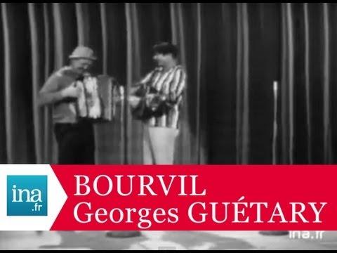 Bourvil et Georges Guétary