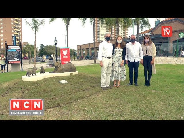 """CINCO TV - El Municipio presentó la obra artística """"Armonía"""" en homenaje a la fauna de Tigre"""