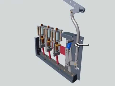 Vacuum Switch Animation by Trayer Switchgear