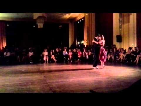 Lucia Lerendegui et François Saulnier, Casino de Biarritz, festival international de tango 2/2