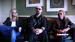Judas Priest Talk 'March of the Damned' + 'Crossfire'