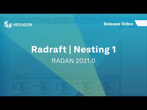 Radraft Nesting 1 | RADAN 2021