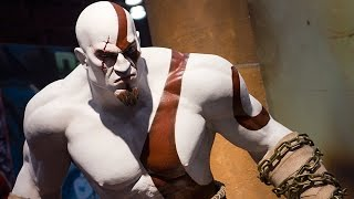 Mortal Kombat 9 KRATOS Destroying Freddy Krueger Fatalities and Stage Fatalities