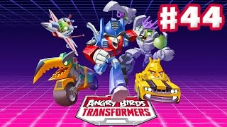 Angry Birds Transformers - Gameplay Walkthrough Part 44 - Scorponok Rescued! (iOS)