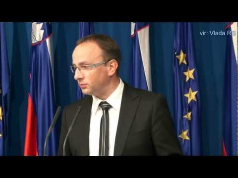 11. redna seja Vlade RS - novinarska konferenca (vir: Vlada RS)